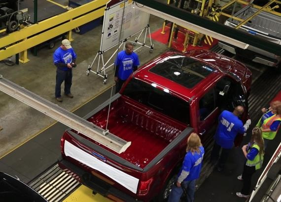 2015 Ford F-150 Factory Tour