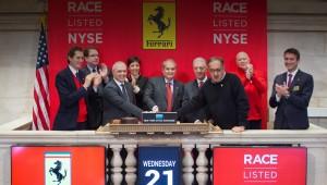 Компания Ferrari была десятой доли общественного