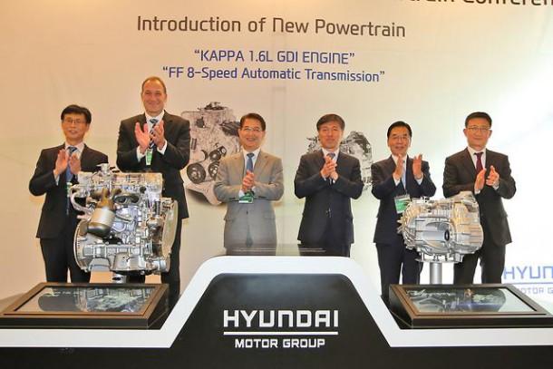 Hyundai 1.6-liter engine