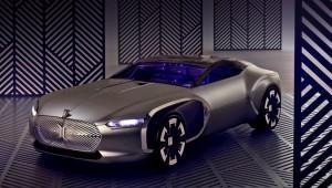 Концепт купе Корбюзье фирма Рено имеет почтили память великого архитектора