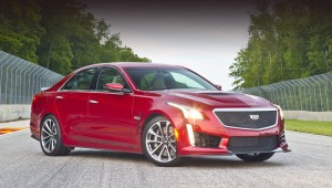 The power of the engine on the sedan Cadillac CTS-V will be increased