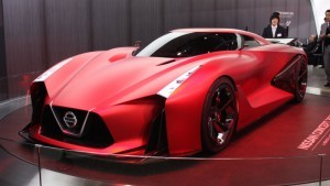 Nissan concept 2020 vision Gran Turismo is to see everything in red