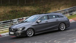 Updated Mercedes-Benz CLA Shooting Brake is delayed until spring