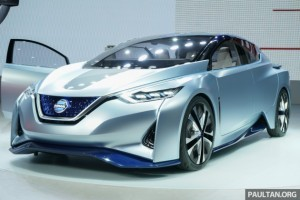 Tokyo 2015: Nissan identifiers concept – self-driving EV
