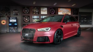 Bureau ABT the second time crossed the hatchback Audi RS3 Sportback