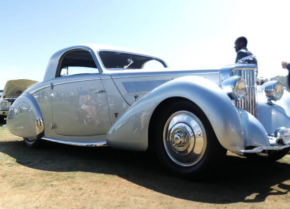 1938 Jaguar SS 100 Graber Coupe | Pebble Beach 2015 | Beauty-Roll