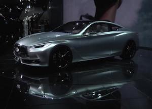 Инфинити Q60 купе подсмотрел в производство прикрытием