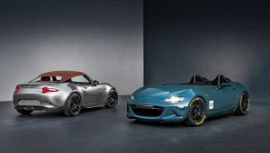 Mazda built the concepts of the lightweight MX-5 Spyder and Speedster