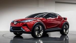 Отпрыск концепт C-ч напомнил про новый кроссовер Toyota