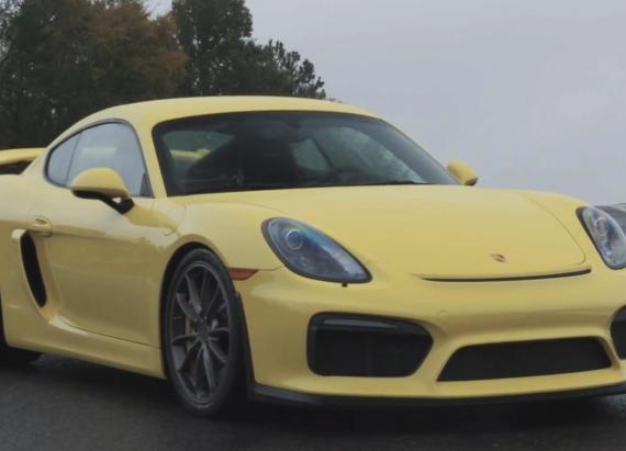 2016 Porsche 911 GT3 RS and Cayman GT4