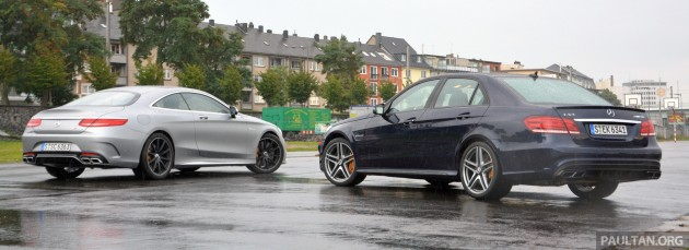 Mercedes-Benz S 63 AMG Coupe and E 63 AMG S-2