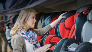 Russian Red Cross rejected child car seats
