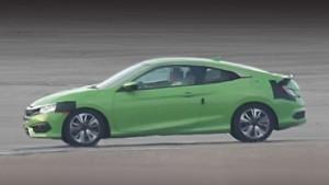 Серийный Хонда Цивик купе дебютирует в Лос-Анджелесе
