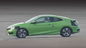 Serial Honda Civic coupe to debut in Los Angeles