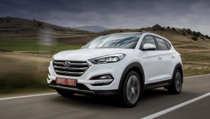 Galloping across hill and down Dale on the new crossover Hyundai Tucson