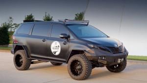 Тойота НПА встанет на якорь на шоу SEMA