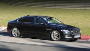 В LWB Ягуар XF седан выйдет на рынок в новом году
