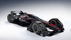 Макларен MP4 концепции-х представили будущее автоспорта