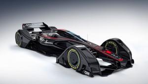 McLaren MP4 concept-X presented the future of Motorsport