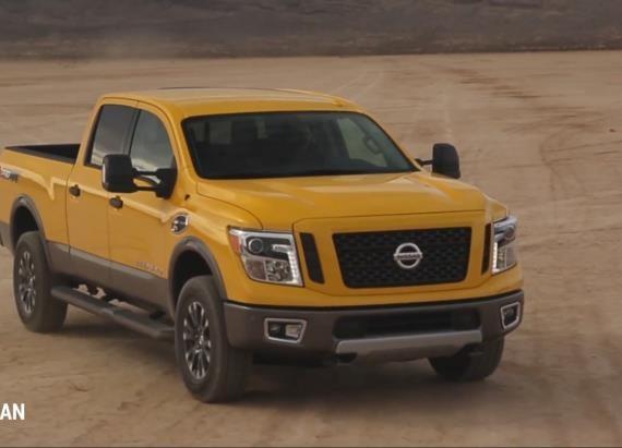 2016 Nissan Titan XD in Arizona | On Location