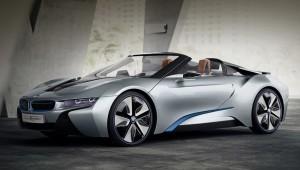 Предсерийный БМВ и8 модели Spyder будет показан в январе