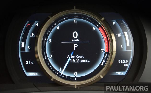 Lexus IS 200t Review 23