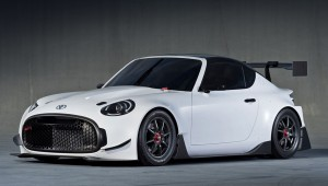 The show car Toyota S-FR has got the racing version