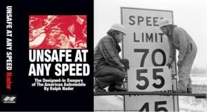 """Совпадение двух юбилеев: Надера 'опасен на любой скорости """" исполняется 50 лет, 30 лет после Национальной ограничение скорости отменено"""