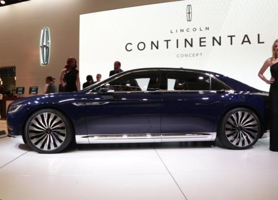 Lincoln Continental Concept | 2015 NYIAS