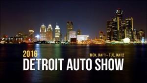 2016 автошоу в Детройте резюме [Вт/видео]
