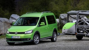 Model Volkswagen Caddy came under review in Russia