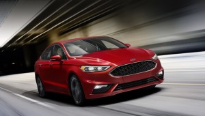 Updated sedan Ford Fusion received the motor supercharged V6