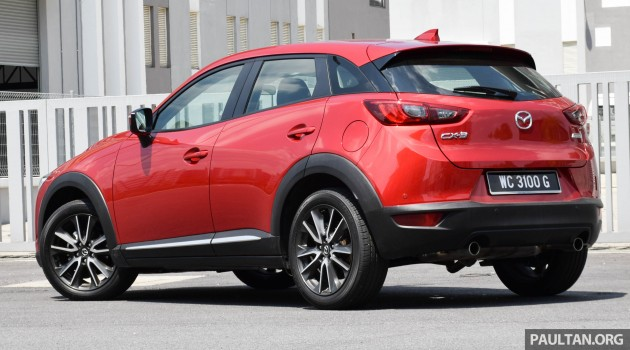 Mazda CX-3 2.0L review 4