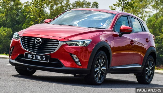 Mazda CX-3 2.0L review 81