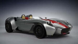 The prototype Design Jannarelly-1 will be production Roadster