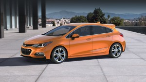 Pyatidverka Chevrolet Cruze Hatch will please the Americans