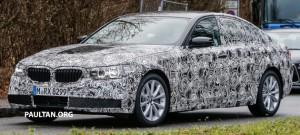 SPYSHOTS: Г30 BMW 5 серии прототип выходит на биржу