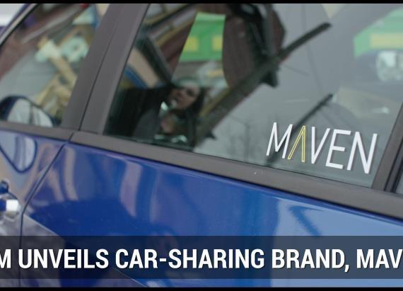 GM Introduces Maven Car-Sharing Service | Autoblog Mintute