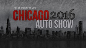 2016 Чикагском автосалоне резюмируйте
